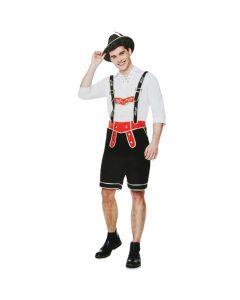Oktoberfest herre kostume