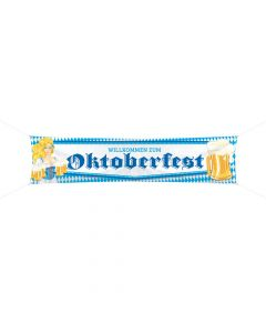 "Streetbanner nr. 2 ""Oktoberfest"" 180 cm."