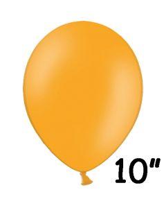 Orange ballon 1 stk. - 26 cm.
