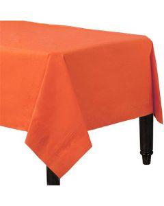 Orange papirdug 137 x 274 cm.