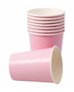 Papkrus i lyserød farve