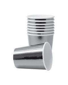 Sølvmetallic papkrus