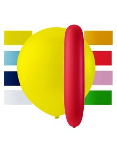 Balloner i blandede farver