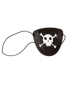 Pirat øjenklapper med Jolly Roger