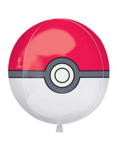 Pokemon - Pokéball folieballon 1 stk.