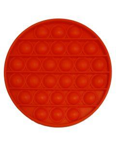 Rund rød Pop It fidget toy
