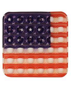 Pop It med det amerikanske flag