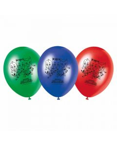 Pyjamasheltene balloner