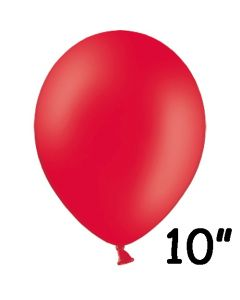 Rød ballon 1 stk. - 26 cm.