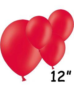 """Røde balloner 12"""" - 100 stk."""