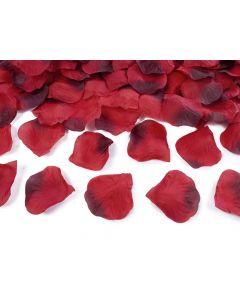 Røde rosenblade