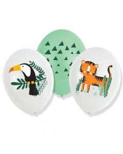 Balloner med Safari tema