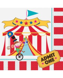 Cirkus servietter