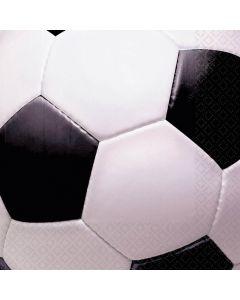 Servietter med fodbolde