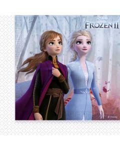 Servietter med Frost 2 tema