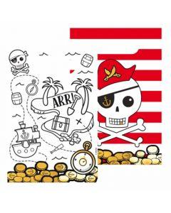 Pirat slikposer i papir