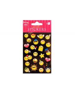 Stickers Smileys - 54 stk.