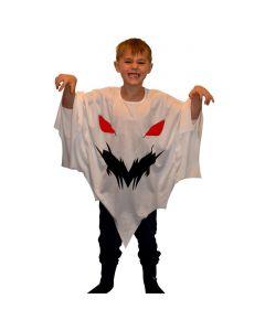 Spøgelse Børnekostume Poncho
