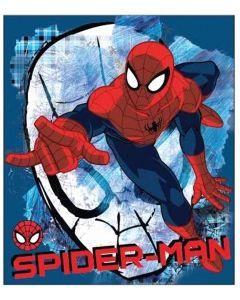 Fleecetæppe med Spider Man
