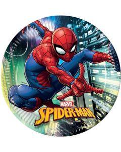 Spider Man paptallerken