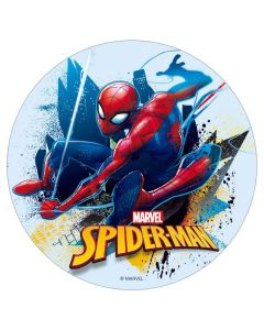 Sukkerprint med Spider Man