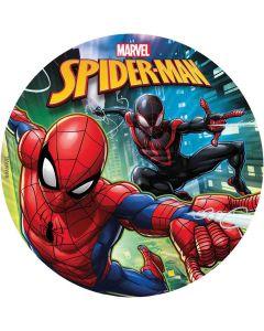 Kageprint med Spider Man