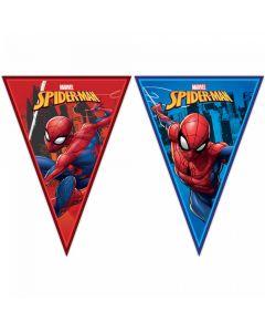 Vimpel banner med Spider Man