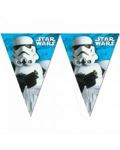 Banner med Star Wars tema