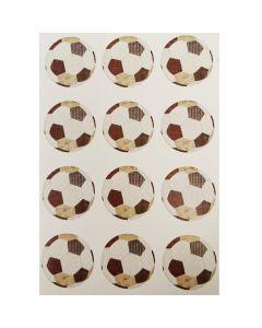 Stickers Fodbolde 24 stk.