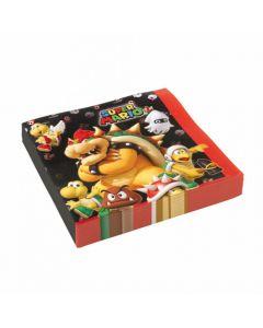 Super Mario servietter 20 stk.
