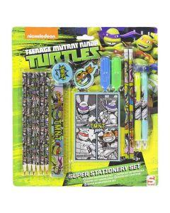 Skrivesæt med Teenage Mutant Ninja Turtles
