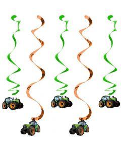 Hænge spiraler med traktor