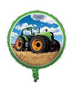 Traktor folieballon 1 stk.