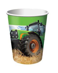 Traktor papkrus 8 stk.
