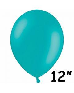 """Turkis ballon 12"""" - 1 stk."""