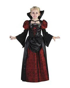 Vampyr kjole til halloween