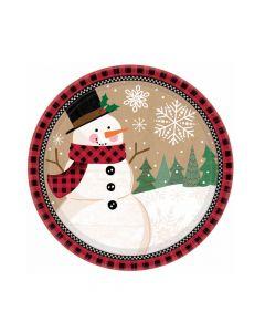 Desserttallerkner til jul