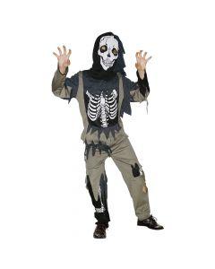 Halloween zombie kostume