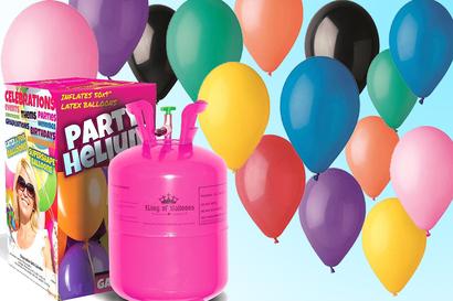 Balloner og helium
